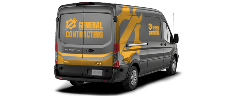 Commercial Wrap Van
